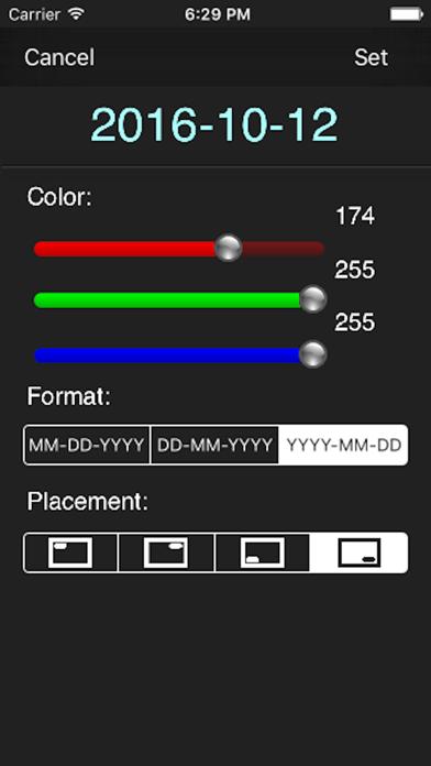 Date Print Lite - Date stamperのおすすめ画像2