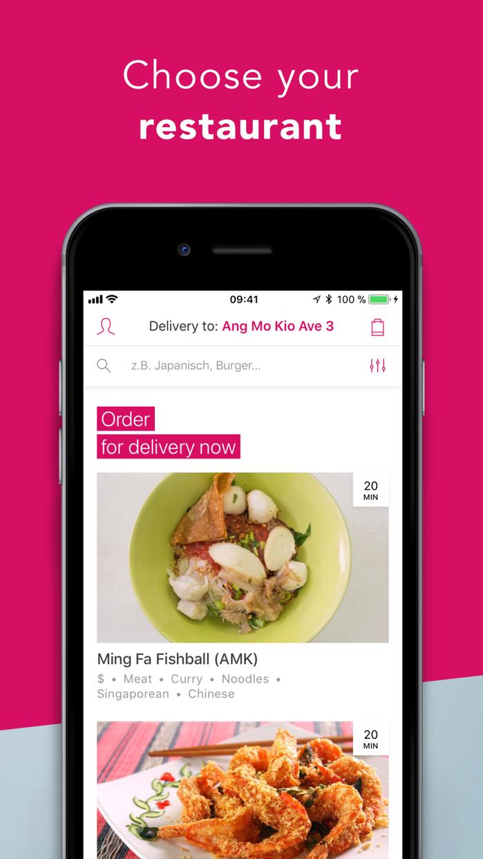 foodpanda - Food Delivery Screenshot