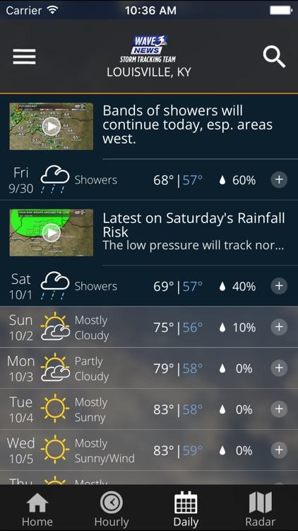 WAVE 3 Louisville Weather screenshot-3