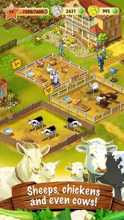 Jane's Farm: farming town screenshot-3
