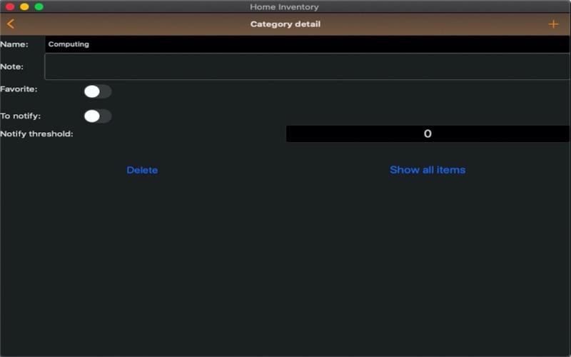 Easy Home Inventory скриншот программы 7