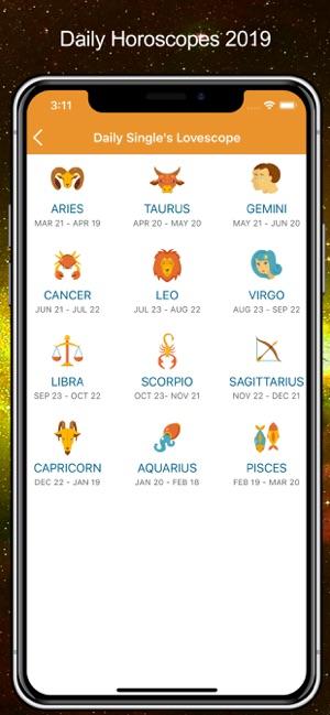 Daily Horoscopes Tarot Card On The App Store