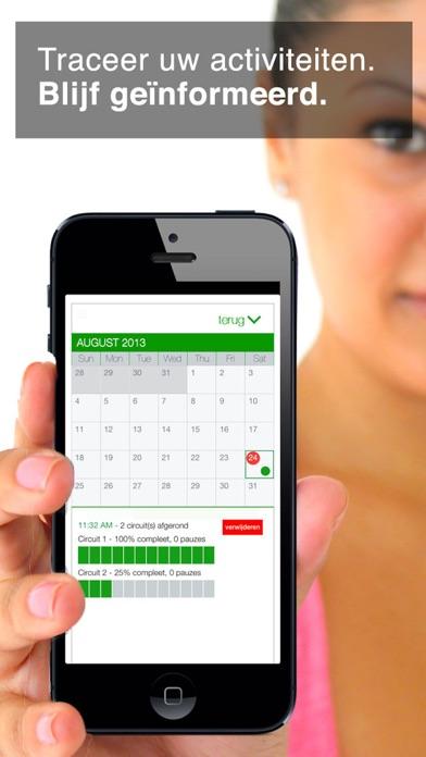 workout van 7 minuten iPhone app afbeelding 3