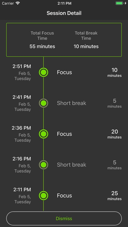 Focus - Task & Time Manager screenshot-5
