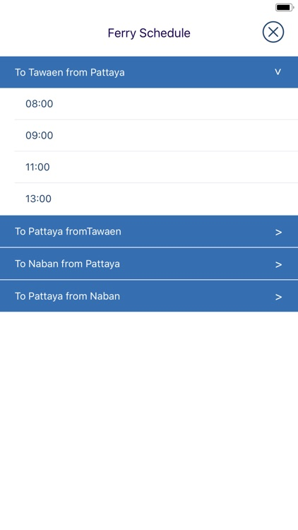 Pattaya -  Songthaew routes screenshot-3