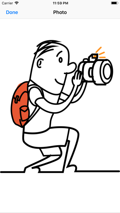 Lost Tourist Stickers app image