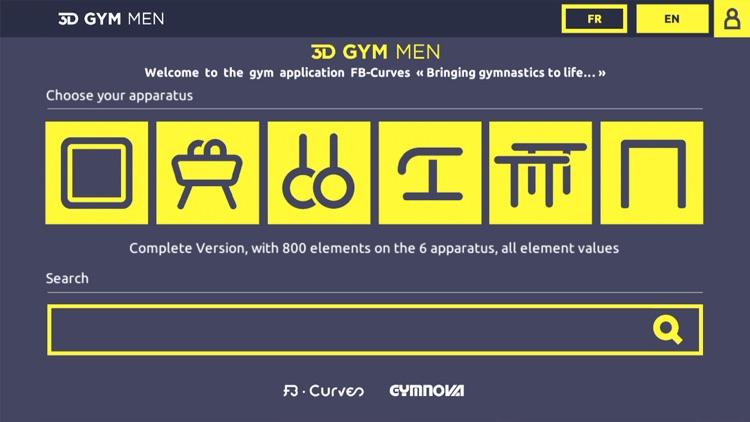 3D Gym Men - FB Curves screenshot-0
