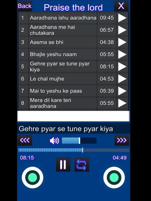 Prayer & Worship Songs screenshot 7