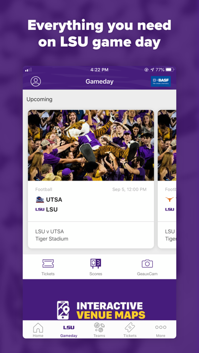 messages.download LSU Sports Mobile software