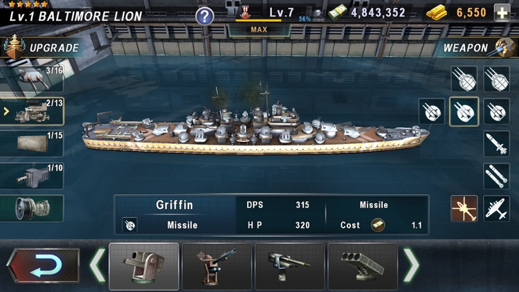 WARSHIP BATTLE:3D World War II screenshot-7