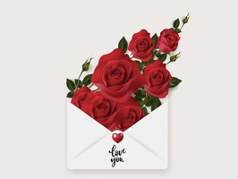 Say Love with Beautiful Rose