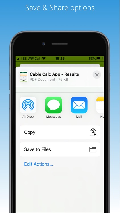 Cable Calc screenshot-9