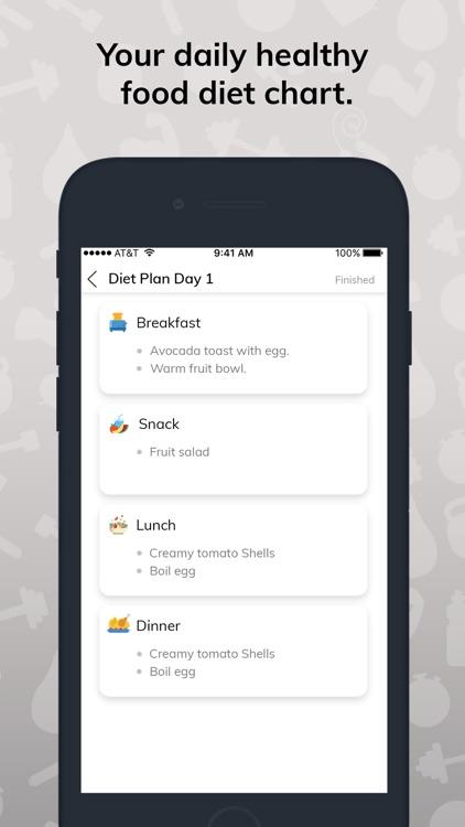 Diet Plan & Full Body Workout screenshot-7