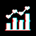 Tik+: Likes & Followers Track на пк