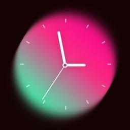 Art Clock Widget-Edit screen