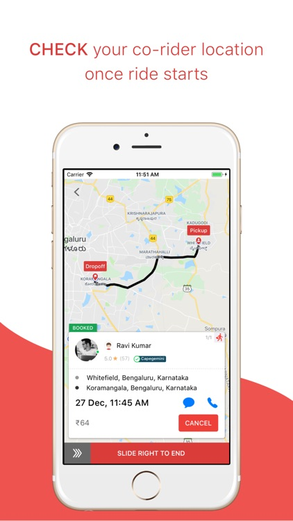 sRide – Carpooling & Bikepool screenshot-3