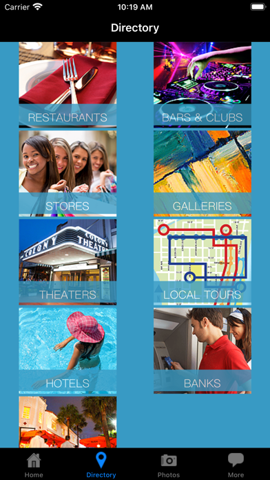 Miami Beach Lincoln Road Mall Guide screenshot