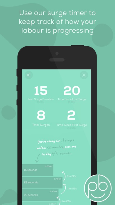 Screenshot for Freya • Surge Timer in United Kingdom App Store