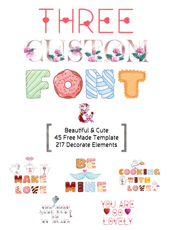Valentine's Day - Custom Font screenshot 6