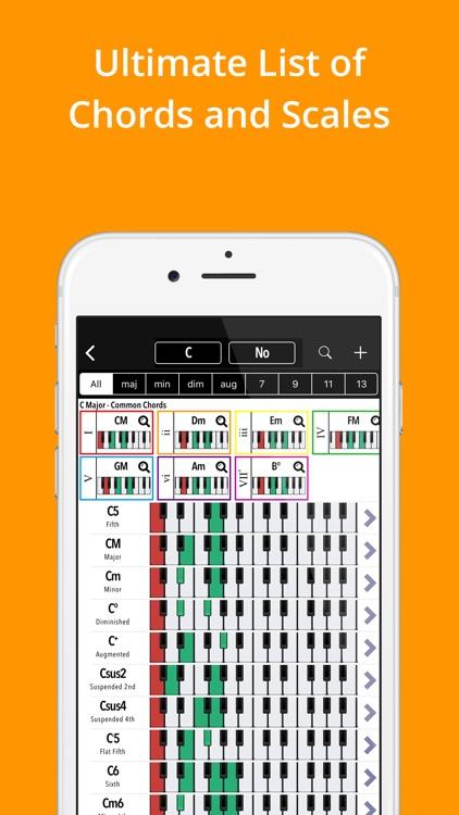 Piano Companion: Chords,Scales screenshot-0