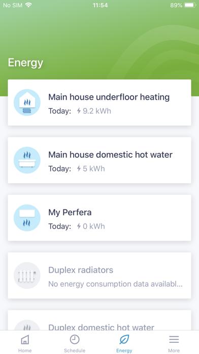 Daikin Residential Controllerلقطة شاشة5