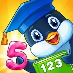 Math games with Pengui