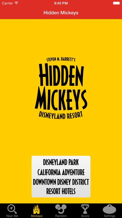Hidden Mickeys: Disneyland screenshot-1