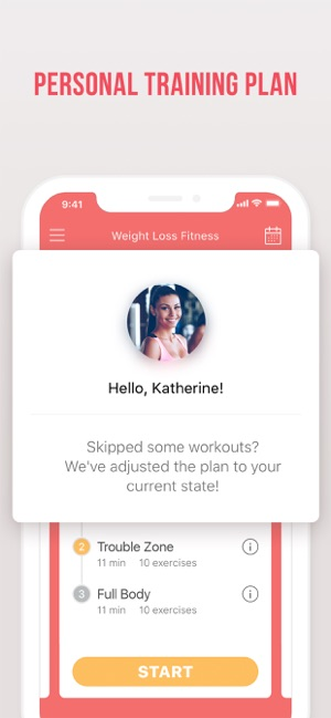 weight loss fitness planner