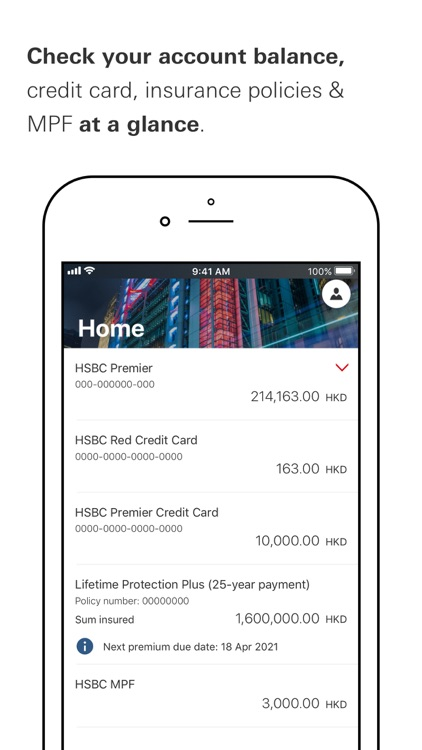 HSBC HK Mobile Banking screenshot-4