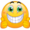 Two Thumbs Up Emojis