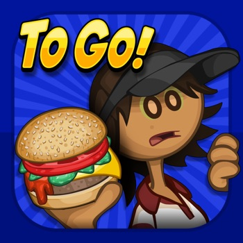 Papa's Burgeria To Go! Logo