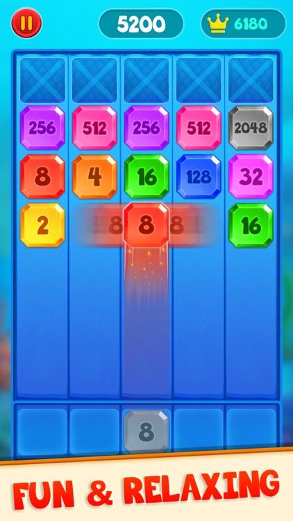 2048 Shoot N Merge - Shoot Up screenshot-3
