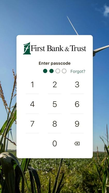 First Bank & Trust - BANKeasy
