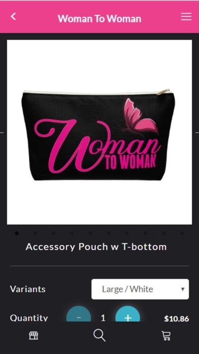Woman To Woman App Screenshot
