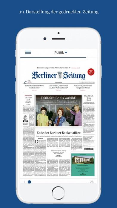 Berliner Zeitung E Paper App Appstore