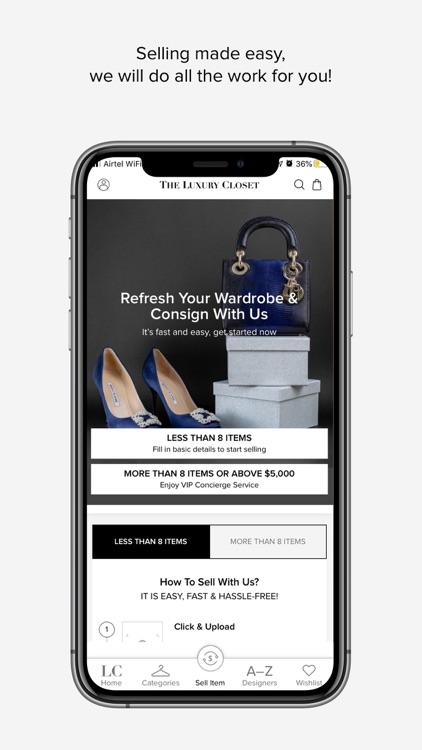 The Luxury Closet - Buy & Sell screenshot-4