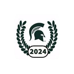 MSU Class of 2024 Stickers
