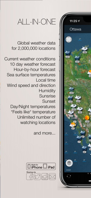 Weather and wind maps on the App Store