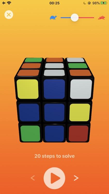 3D Rubik's Cube Solver screenshot-4