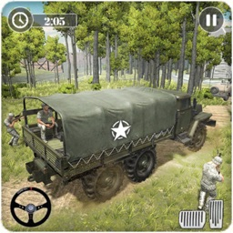 Army Transport Driving Games