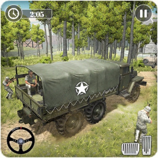 Army Transport Driving Games icon