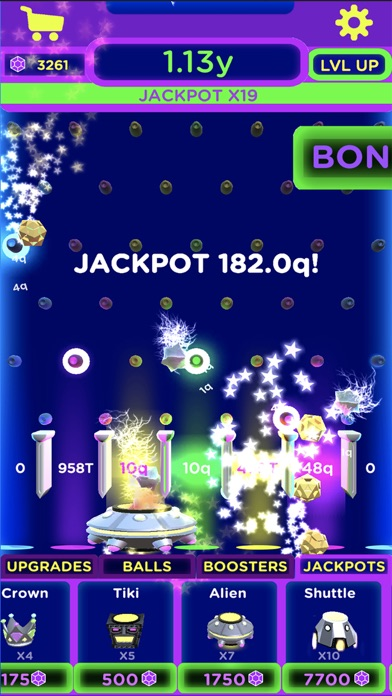 Idle Jackpot: Catch the balls! screenshot two