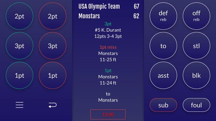 Easy Stats for Basketball screenshot-0
