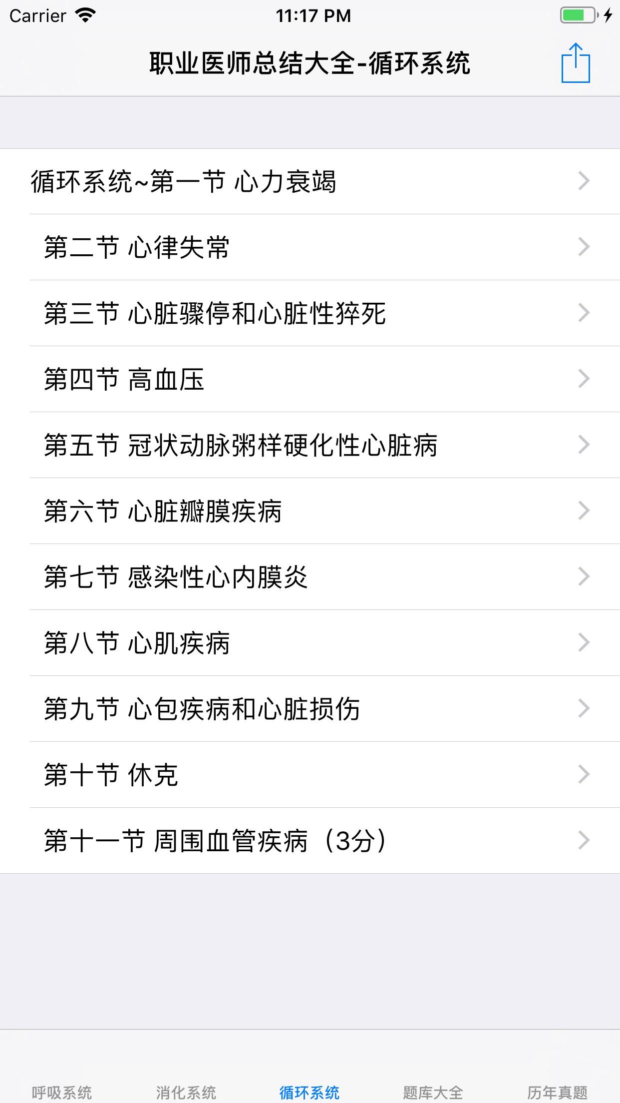 职业医师考试真题、知识点总结大全 Screenshot