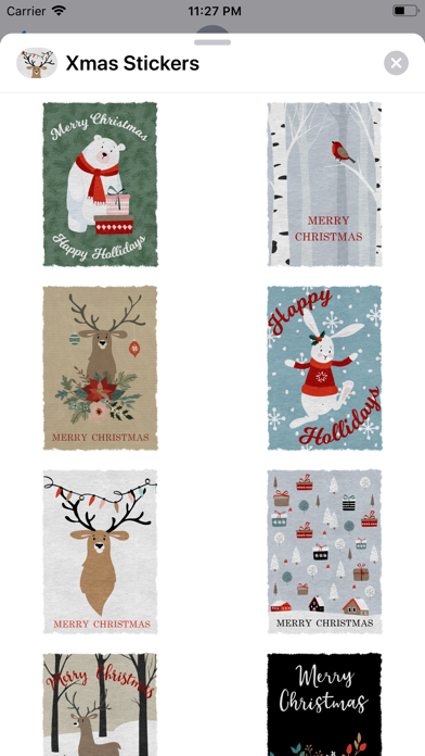 Xmas Christmas Stickers Pack screenshot four