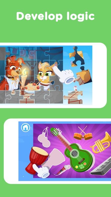 Keiki Puzzle Games for Toddler screenshot-3