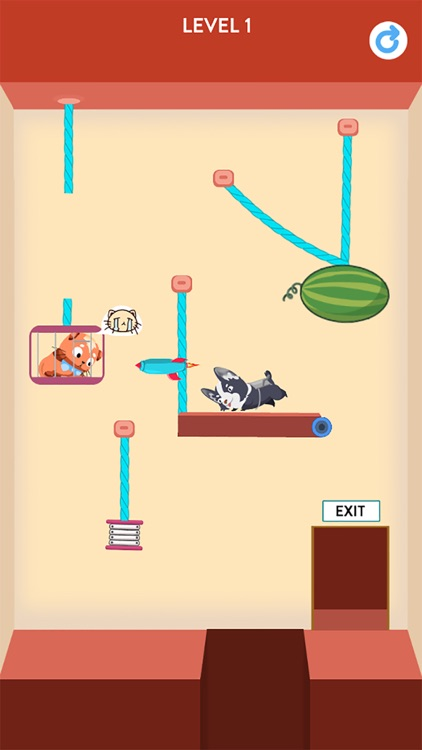 Rescue Kitten - Rope Puzzle screenshot-5