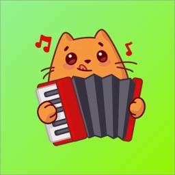 Cat Lovely Sticker
