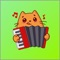 App Icon for Cat Lovely Sticker App in Denmark App Store
