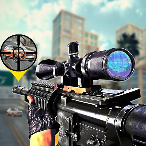 Fire Paint Sniper Hitman